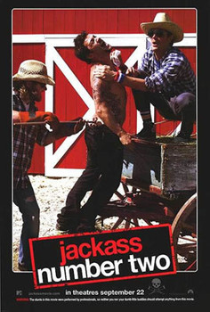 JACKASS THE MOVIE NUMBER 2 (DOUBLE SIDED) ORIGINAL CINEMA POSTER