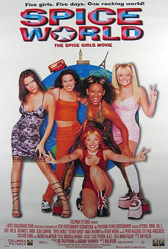 SPICEWORLD (Video) ORIGINAL VIDEO/DVD AD POSTER