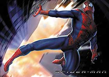 SPIDERMAN (Flying Reprint) REPRINT POSTER