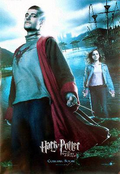HARRY POTTER AND THE GOBLET OF FIRE (Viktor Krum Reprint) REPRINT POSTER