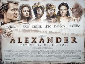 ALEXANDER (DOUBLE SIDED) ORIGINAL CINEMA POSTER