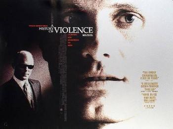 A HISTORY OF VIOLENCE ORIGINAL CINEMA POSTER