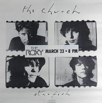 THE CHURCH (STAR FISH '88 Promo Poster) ORIGINAL MUSIC POSTER