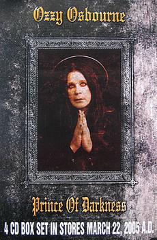 OZZY OSBOURNE (4CD Box Set Release Poster) ORIGINAL MUSIC POSTER