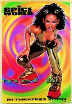 SPICE WORLD (Single Sided - Mel B) ORIGINAL CINEMA POSTER