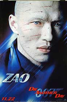 DIE ANOTHER DAY (Single-sided Advance ZAO) ORIGINAL CINEMA POSTER