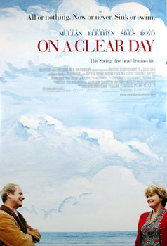 ON A CLEAR DAY (Double Sided Regular) ORIGINAL CINEMA POSTER