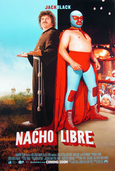 NACHO LIBRE (Double Sided Regular Style B) ORIGINAL CINEMA POSTER