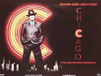 CHICAGO ORIGINAL CINEMA POSTER