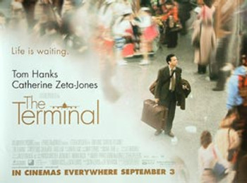 THE TERMINAL ORIGINAL CINEMA POSTER