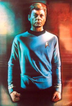 STAR TREK (Single Sided - Bones McCoy) ORIGINAL CINEMA POSTER