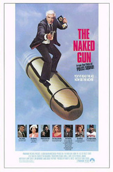 THE NAKED GUN (Single Sided Regular) ORIGINAL CINEMA POSTER