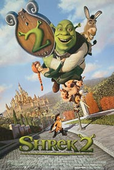 SHREK 2 (Style D) ORIGINAL CINEMA POSTER
