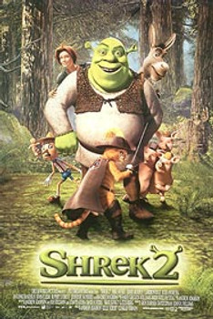 SHREK 2 (Style B) ORIGINAL CINEMA POSTER