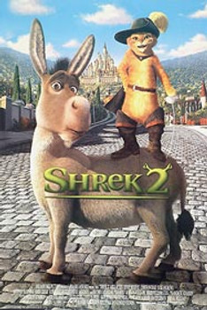 SHREK 2 (Style C) ORIGINAL CINEMA POSTER