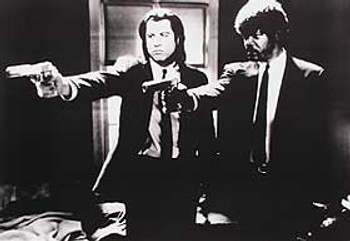PULP FICTION (Single Sided) REPRINT POSTER