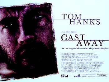 CAST AWAY ORIGINAL CINEMA POSTER