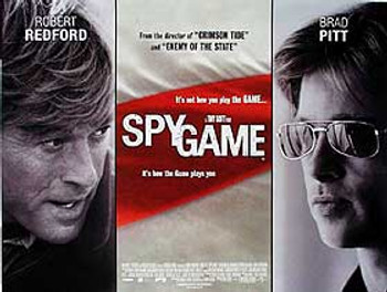 SPY GAME ORIGINAL CINEMA POSTER