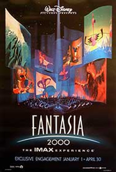 FANTASIA (Double-sided) ORIGINAL CINEMA POSTER