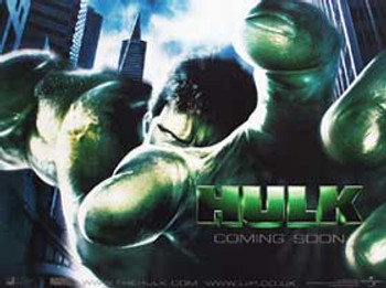 THE HULK (Double Sided Advance) ORIGINAL CINEMA POSTER