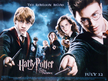 HARRY POTTER AND THE ORDER OF THE PHOENIX ORIGINAL CINEMA POSTER