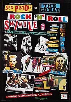 SEX PISTOLS - THE GREAT ROCK & ROLL SWINDLE (Reprint) REPRINT POSTER