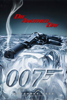 DIE ANOTHER DAY (Double-sided Advance Style A) ORIGINAL CINEMA POSTER