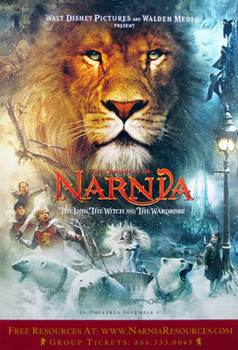 THE CHRONICLES OF NARNIA: THE LION, THE WITCH AND THE WARDROBE (Single Sided Regular) ORIGINAL CINEMA POSTER