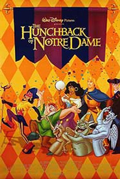 THE HUNCHBACK OF NOTRE DAME (Double Sided Regular Style A) ORIGINAL CINEMA POSTER