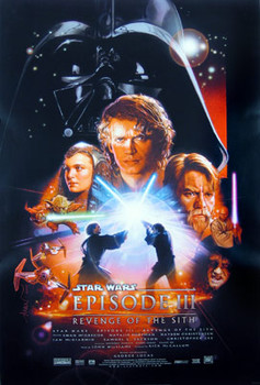 STAR WARS: EPISODE 3 - REVENGE OF THE SITH (DS REG A) REPRINT CINEMA POSTER