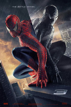 SPIDER-MAN 3 (Double Sided Advance) ORIGINAL CINEMA POSTER