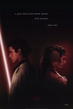 STAR WARS EPISODE 11 - ATTACK OF THE CLONES (DS) ORIGINAL CINEMA POSTER