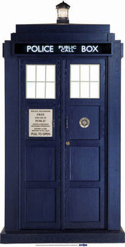 The Tardis  - BBC Doctor Who / Dr Who / Dr. Who - Lifesize Cardboard Cutout / Standee
