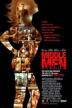 MIDDLE MEN Poster (James Caan) double sided REGULAR (2010) ORIGINAL CINEMA POSTER