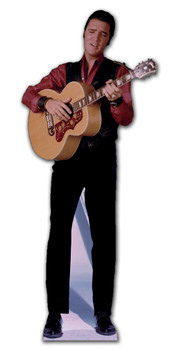 Elvis Singing with Guitar - Lifesize Cardboard Cutout / Standee