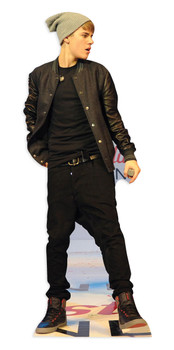 US Pop Star On Stage Cardboard Cutout