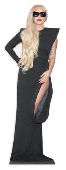 Lady Gaga Cutout