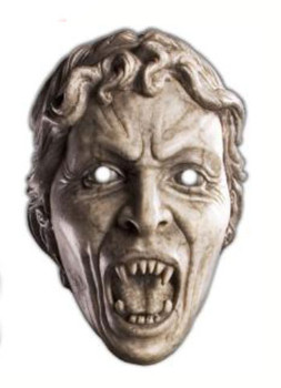 Weeping Angel Doctor Who Face Mask