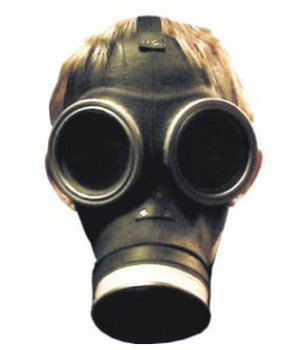 Empty Child Doctor Who Face Mask