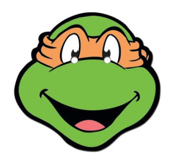 Michelangelo Teenage Mutant Ninja Turtles Face Mask