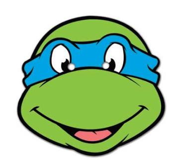 Leonardo Teenage Mutant Ninja Turtles Face Mask