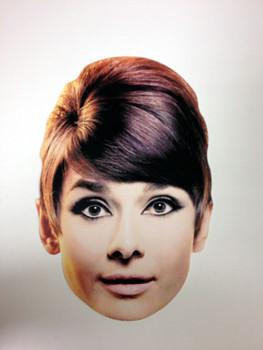 Audrey Hepburn Face Mask