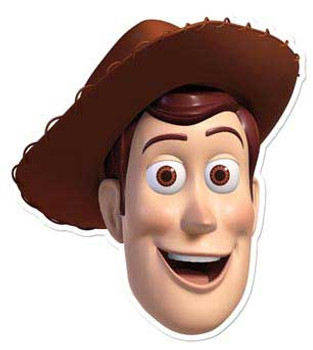 Woody Face Mask (Toy Story)