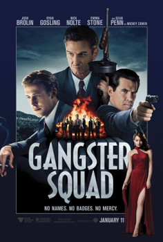 GANGSTER SQUAD Poster double sided ADVANCE (2013) ORIGINAL CINEMA POSTER