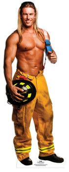 Kevin Fireman Outfit - Chippendales Lifesize Cardboard Cutout / Standee