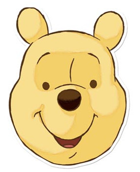 Winnie The Pooh Face Mask (Pooh Bear)