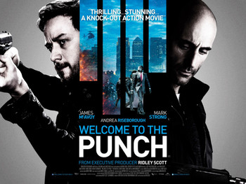 WELCOME TO THE PUNCH Poster double sided (Quad) (2013) ORIGINAL CINEMA POSTER