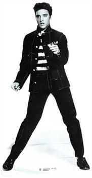 Elvis Jailhouse Rock Lifesize Cardboard Cutout / Standee