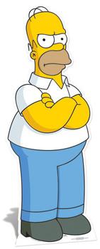 Homer Simpson cutout