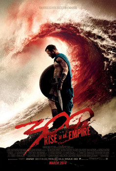 300 RISE OF AN EMPIRE Poster double sided REGULAR (2014) ORIGINAL CINEMA POSTER